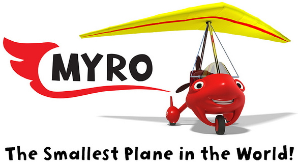 Myro - The Smallest Plane in the World